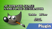 Automatic Stage Nameplate Generator Tutorial preview