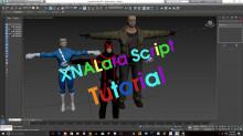 XNALara Script for 3DSMax Tutorial Tutorial preview