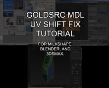 GoldSource Model Texture UV Shift Fix preview