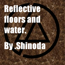 A way to make a reflective floor Tutorial preview