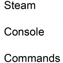Steam Console Commands Tutorial preview
