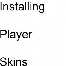 How to install player skins Tutorial preview