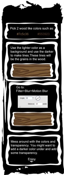 Easy Wood Tutorial preview