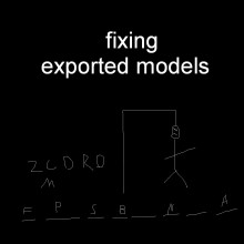 Fixing exported models Tutorial preview