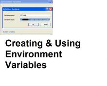 Creating & Using Environment Variables Tutorial preview