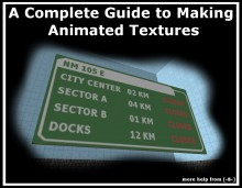 How to make Animated Textures Tutorial preview