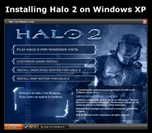 Installing Halo 2 on Windows XP Tutorial preview