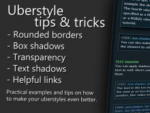 Uberstyle CSS3 tricks preview