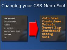 Changing CS:S Menu Font Tutorial preview