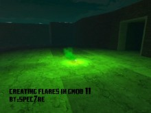 Creating flares Tutorial preview