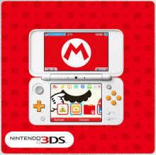 SOLD OUT 3ds Theme Mario's Mighty Mustache