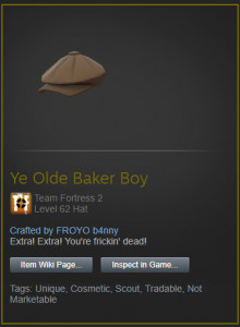 Ye Olde Banker Boy crafted by FROYO b4nny