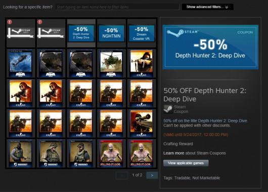 Depth Hunter 2: Deep Dive 50% Off Coupon + More