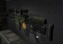 SCAR-20 StatTrak Green Marine preview