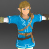Breath Of The Wild Link Remastered