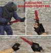 Huntsman knife HD skins
