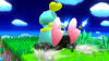Chao over Bowser Jr. WIP (Completed)