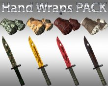 HD HANDWRAPS Gloves pack + Bayonet