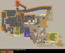 Desert Map Overview