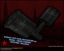 RPG40 anti-tank grenade for CC