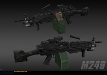 Tactical M249 [DONE]