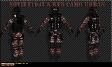 Red Camo Urban