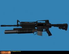 M16A2 (M16 + M203) :D