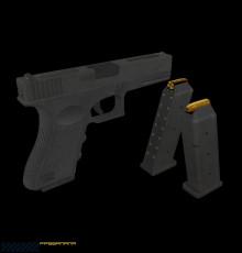 Glock 18C Texturing