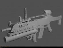 the XM320 Grenade Launcher