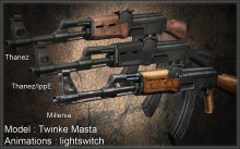 RELEASE AK47 Tactical Animatio