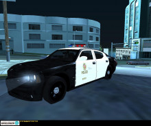 LAPD Dodge Charger; v2 LAPD Cr