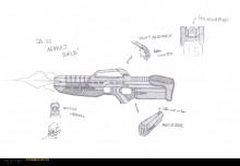 SA-22 Assault Rifle Concept