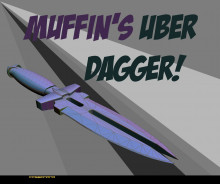 Muffin's over dagger!