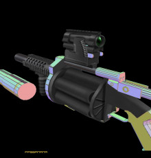 grenade launcher thing