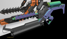 District 9 Arc Gun Uv