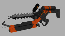 District 9 Arc Gun Texture
