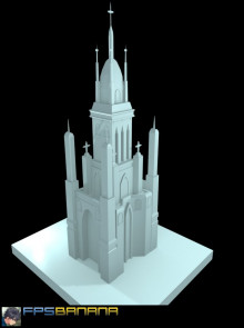 Lowpoly church
