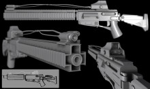 high poly shit action