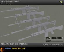 Imbel FAL M964 A1 Variants