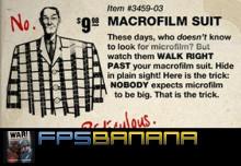 Macrofilm suit