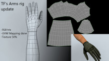 Arm modelling *update!*