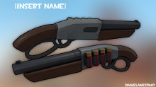 Lever Rifle Ingame