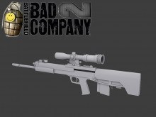QBU-88 Chinese rifle (Model)