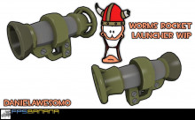 Worms Rocket launcher