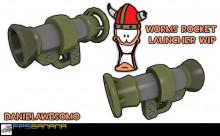 Worms Rocket launcher