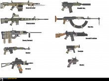Post-Apo guns concepts