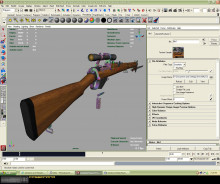 Lee Enfield First Attempt