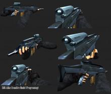 XM8 Re-Texturing Into CF Model