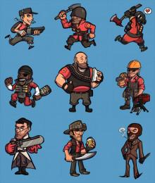 TF 2 Hud classes icons #1