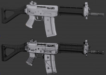 SGG552 Model - Final Low Poly > High Poly